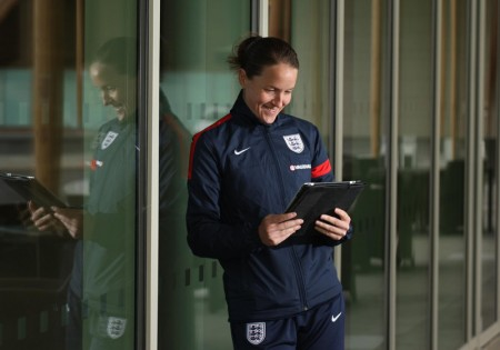 England Women's football captain Casey Stoney
