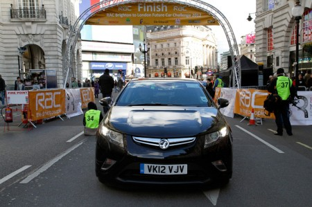 Vauxhall Technology Scoops Three Energy Efficiency Awards at Future Car Challenge 2012