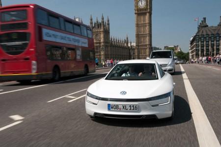 Volkswagen's futuristic XL1 hybrid