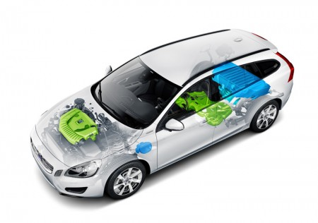 Volvo V60 Plug-in Hybrid - highest safety score ever for an electrified car in Euro NCAP