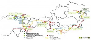Wave Trophy Rally 2013 Route Map