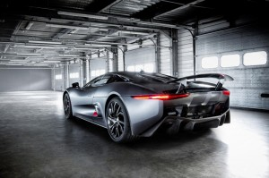 Prototype Jaguar C-X75 to be on show at Wilton Classic and Supercar event on 4th August 2013