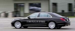 Mercedes-Benz S 500 PLUG-IN HYBRID - Side profile