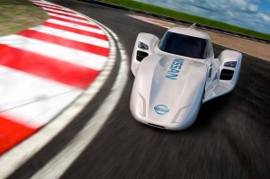 Nissan ZEOD RC on Track