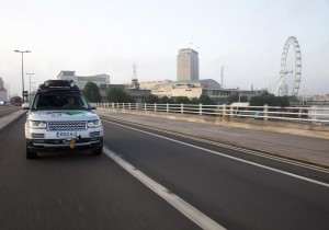 Range Rover Hybrid Silk Trail - London
