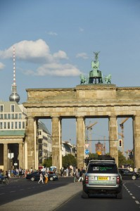 Range Rover Hybrid Silk Trail - Outisde the Brandenburg Gate, Berlin