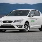 SEAT Leon Verde hybrid electric prototype - front quarter view