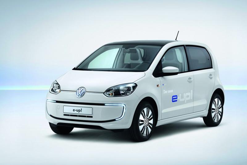Volkswagen's e-up! EV to debut at the Frankfurt Motorshow