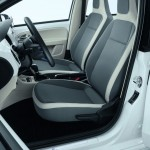 Volkswagen e-up! - Interior front seats