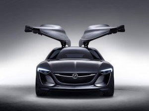 Vauxhall/Opel Monza Concept - Front open