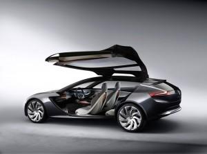 Vauxhall/Opel Monza Concept - Rear open