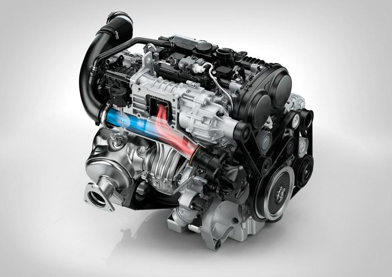Volvo Cars' new Drive-E powertrains - petrol engine
