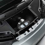 BMW i3 - Front 'boot' showing charging cable reel