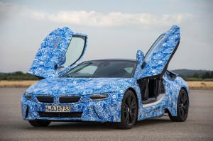BMW i8 plug-in hybrid sports car to feature armoured glass