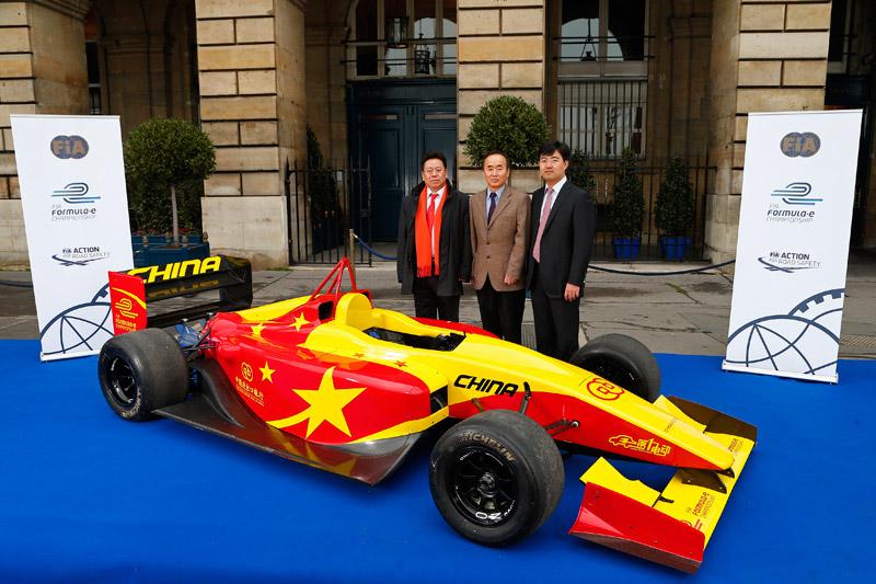 FIA Formula E Announces Second Team; China Racing