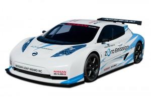 Nissan Leaf NISMO-RC Electric Race Car