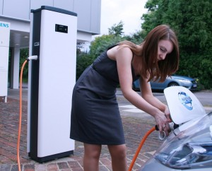 Siemens CP500A Electric Vehicle Charge Point