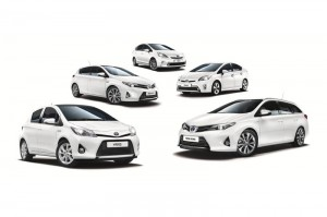 Toyota's hybrid range available for Trybrid