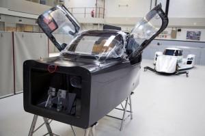 Nissan ZEOD RC carbon fibre tub