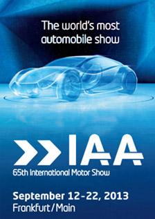 2013 IAA Frankfurt Motor Show