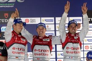 Audi Win Brazil Sao Paulo Endurance Race