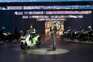 BMW C evolution - Electric Scooter at IAA Frankfurt 2013