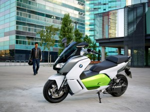 BMW C evolution - Electric Scooter