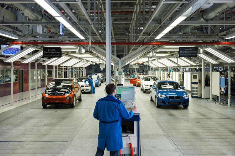 BMW i3 Production Line, Leipzig - Germany