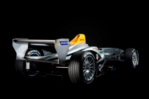 FIA Formula E New Spark-Renault FE-01 Electric Racing Car