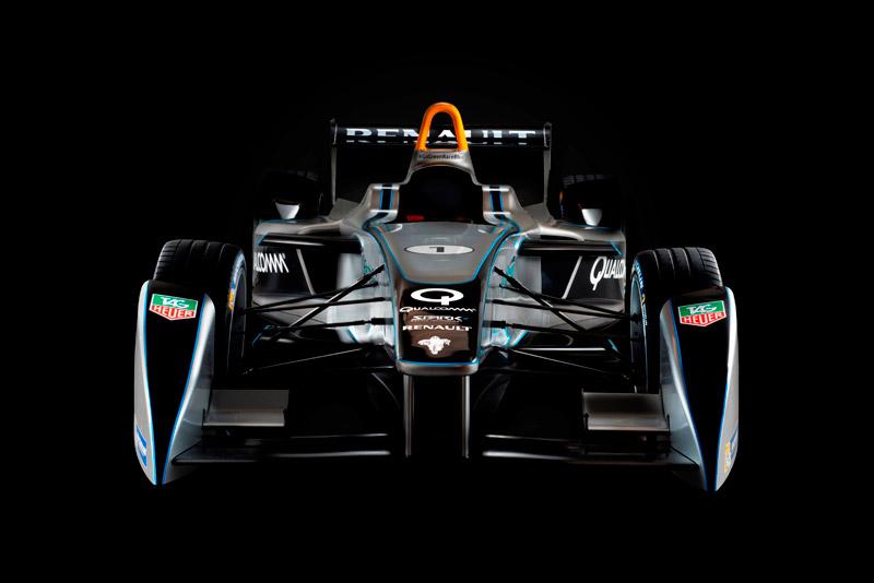 FIA Formula E New Spark-Renault FE-01 Electric Racing Car