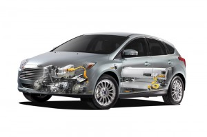 Ford Focus Electric - Cross section