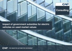Impact of government subsidies for electric vehicles on used market values