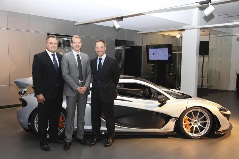 McLaren Stuttgart with P1 hybrid