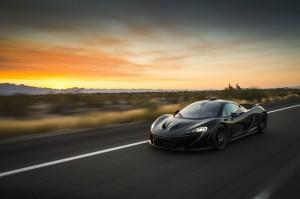 McLaren P1 Extreme Heat Test