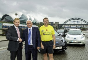 Nissan Leaf and the Great North Run
