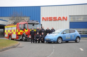 Nissan Leaf to the rescue