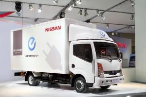 Nissan e-NT400 electric van