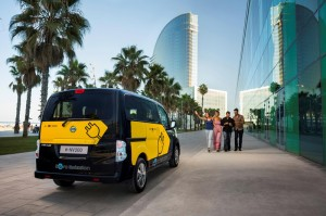 Nissan e-NV200 Electric Van Barcelona Taxi