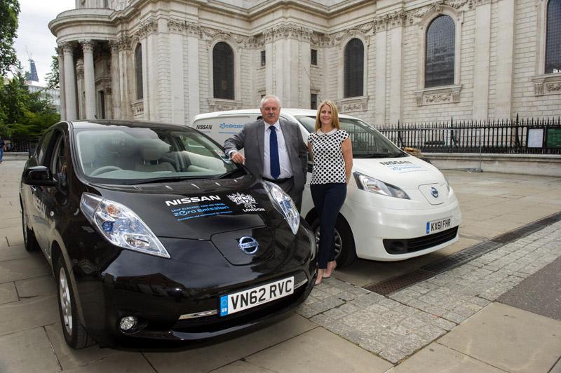 Nissan e-NV200 Electric Van Trials in London