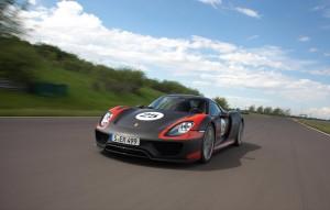 Porsche 918 Spyder makes Frankfurt debut shown here during development 3 September 2013