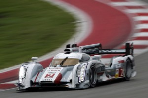 Audi R18 e-tron quattro win at Texas WEC