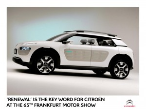 'Renewal' is the key word for Citroën at the Frankfurt Motor Show