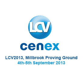 CENEX Low Carbon Vehicle Event 2013