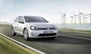 Volkswagen e-Golf electric car