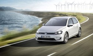 Volkswagen e-Golf electric car