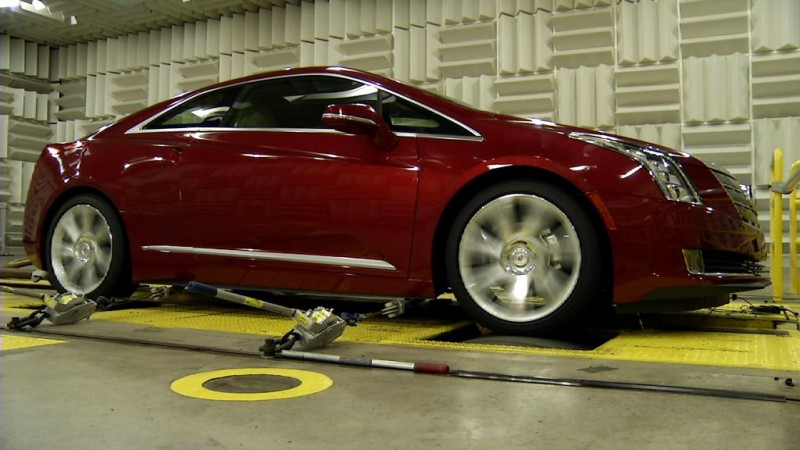 2014 Cadillac ELR - Active Noise Cancelling