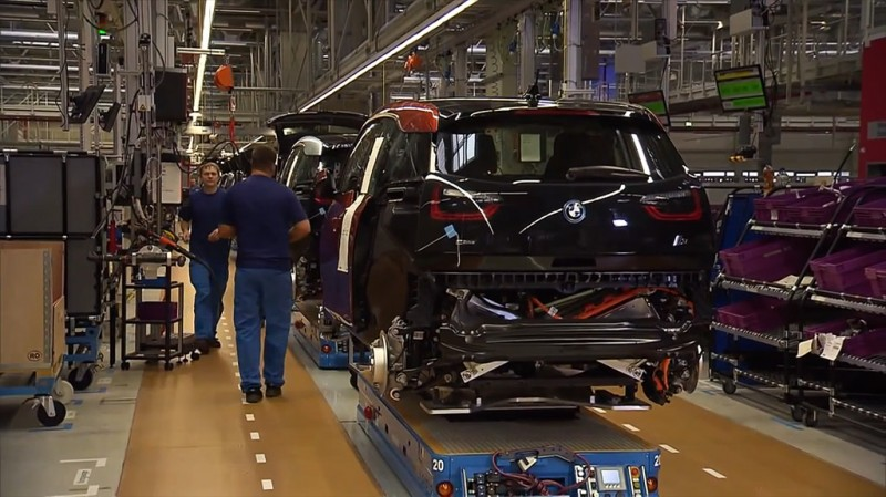 BMW i3 Electric Car Production