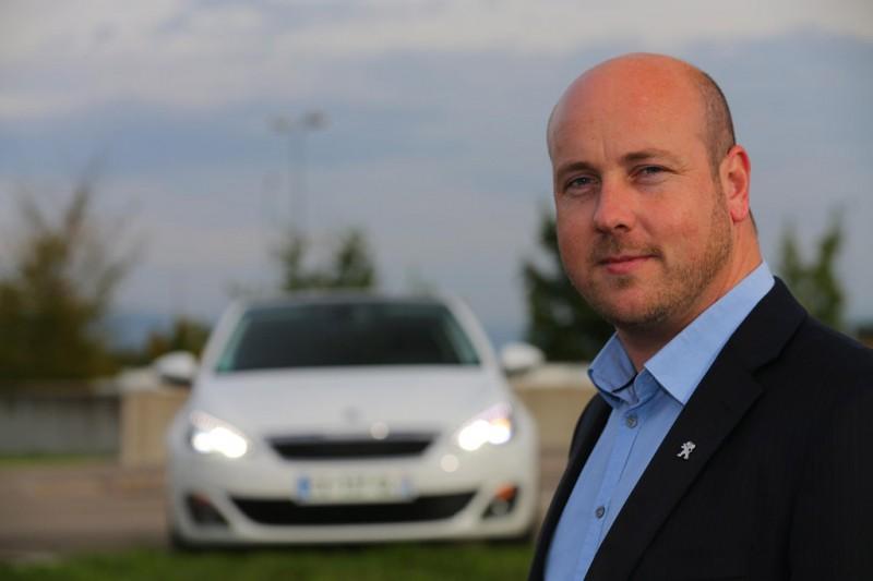 Ben Hindsley Peugeot 308