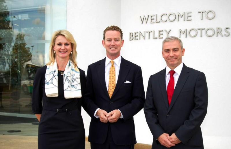 Bentley welcomes Energy and Climate Change Minister