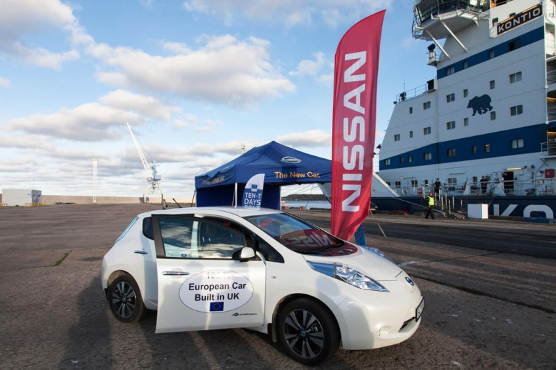 Nissan to lead Rapid Charge Network (RCN) project